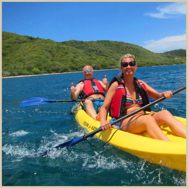 Culebra Island's Tamarindo Bay: a kayaker's dream!