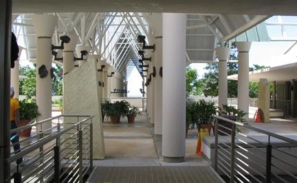 Inside view of El Portal Visitor Center at El Yunque Rainforest. Copyrighted material of ElYunque.com